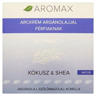 Aromax Botanica natúr kókusz & shea arckrém argánolajjal férfiaknak 50 ml