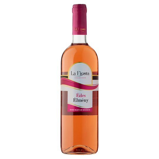 La Fiesta Édes Élmény édes rosébor 10% 750 ml