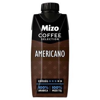 Mizo Coffee Selection Americano UHT Low-Fat Coffee Milk Drink 330 ml