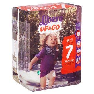 Libero Up&Go 7 16-26 kg Premium Nappies 18 pcs