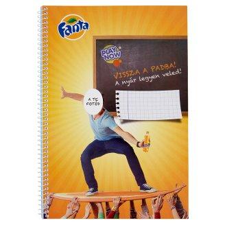 Fanta A/4 60 Sheets Checked Spiral Exercise Book