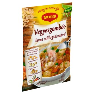 Maggi Mixed Dumpling Soup With Pasta Stars 65 g
