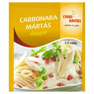 Csoda Konyha Carbonara Sauce Seasoning Mix 26 g