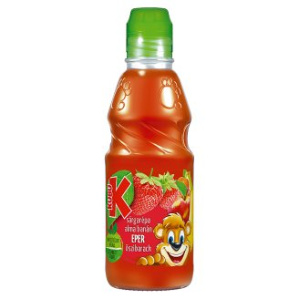Kubu Fibrous Carrot-Apple-Banana-Strawberry-Peach Drink 300 ml