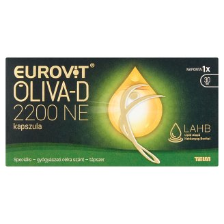 Eurovit Oliva-D 2200 NE kapszula 30 db