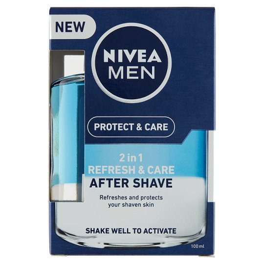 image 1 of NIVEA MEN Protect & Care 2 in 1 Refresh & Care After Shave Lotion 100 ml