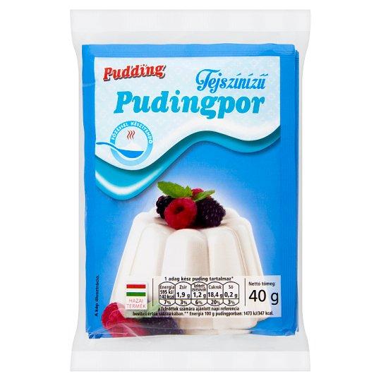 Pudding Cream Flavoured Pudding Powder 3 x 40 g