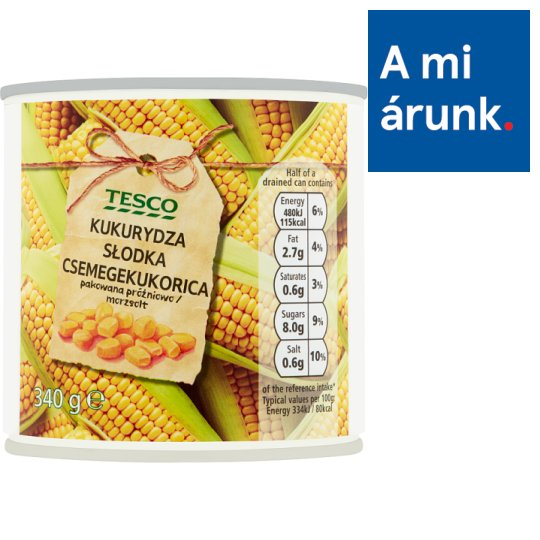 Tesco Sweetcorn 340 g