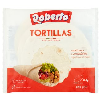Roberto Tortillas Bread with Sunflower Oil 240 g