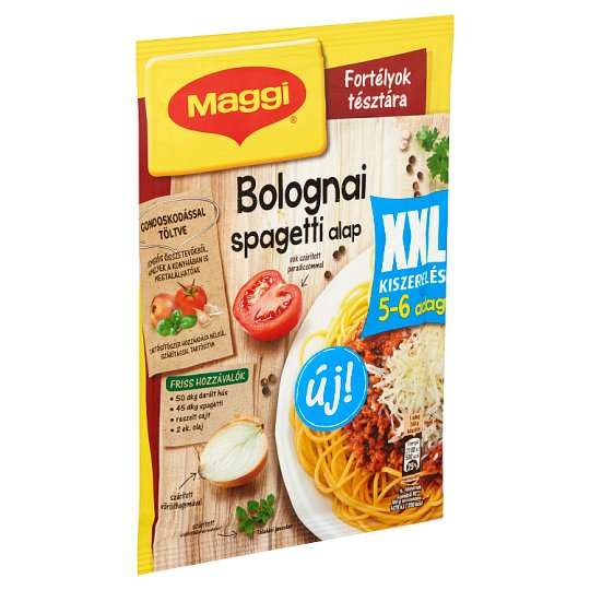 Maggi Fortélyok tésztára XXL Spaghetti Bolognese Base 60 g