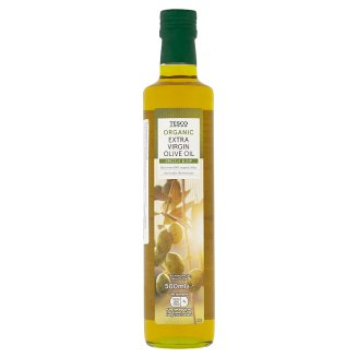 Tesco Organic Extra Virgin Olive Oil 500 ml