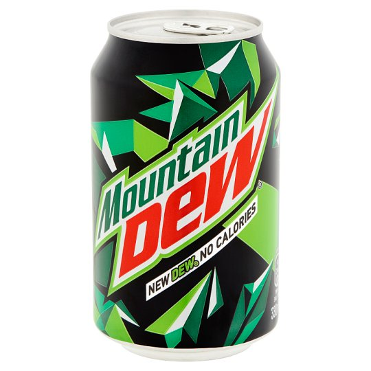 Mountain Citrus Flavoured Energy-Free Carbonated Drink with Sweeteners 330 ml