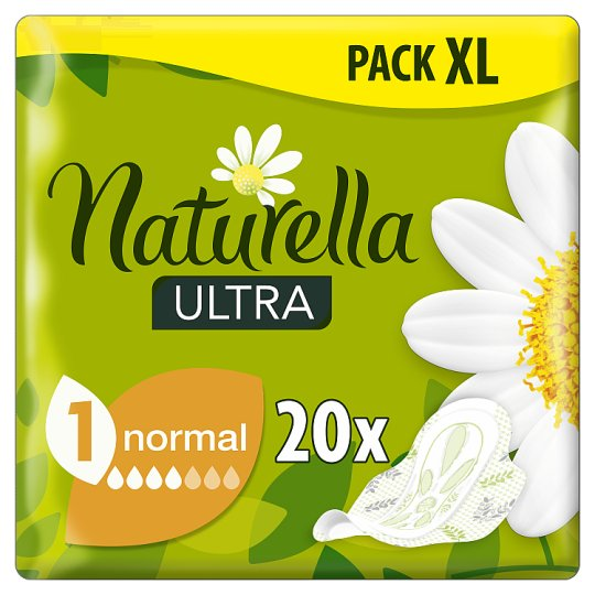 Naturella Ultra Normal Camomile Egészségügyi Betét, 20 db