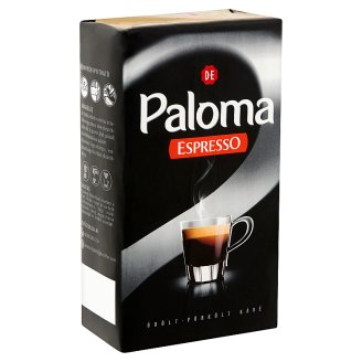 Douwe Egberts Paloma Espresso őrölt-pörkölt kávé 225 g