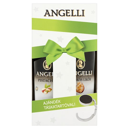 Angelli Liqueur Christmas Pack with Gift Bag Holder 2 x 0,5 l