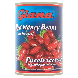 Giana Red Kidney Beans in Brine 400 g