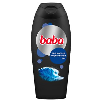 Baba Shower Gel for Men with Sea Minerals 400 ml