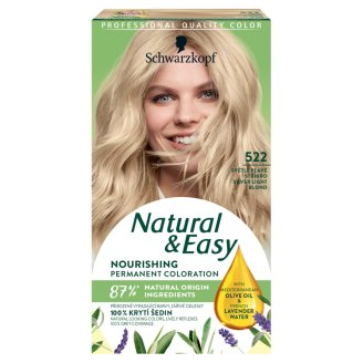 Schwarzkopf Natural & Easy 522 Silver Light Blond Permanent Hair Colorant
