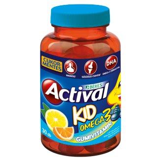 Béres Actival Kid Omega3 Gumivitamin gumitabletta 30 db 93,3 g