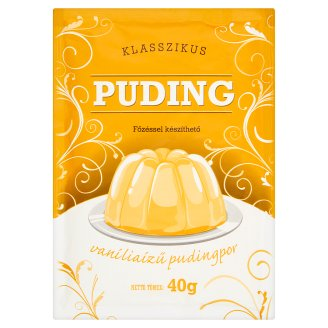 Klasszikus Vanilla Flavoured Pudding Powder 40 g