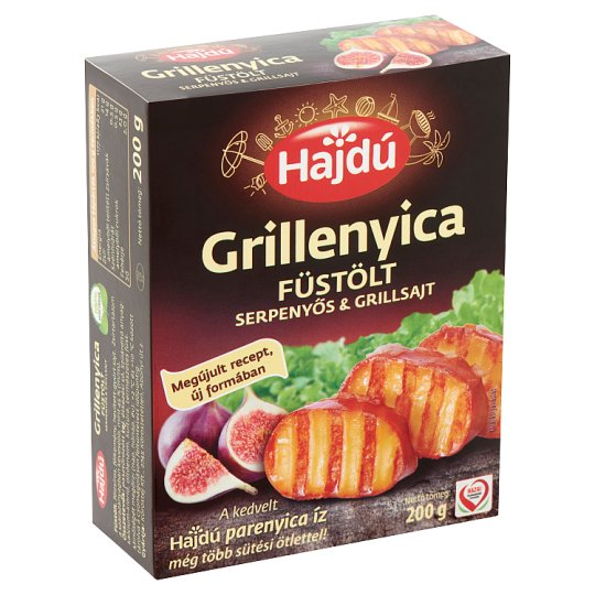 Hajdú Grillenyica Smoked Grill Cheese 200 g