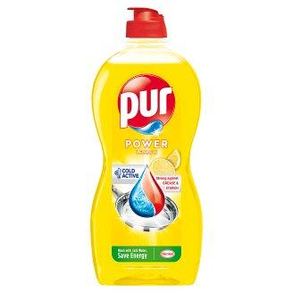 Pur Duo Power Lemon Extra Hand Dishwashing Liquid 450 ml