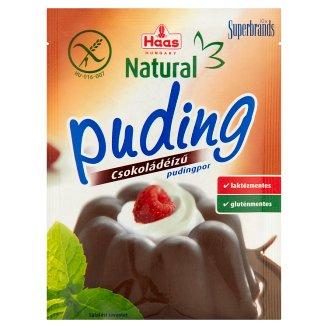 Haas Natural Gluten-Free Chocolate Flavoured Pudding Powder 44 g