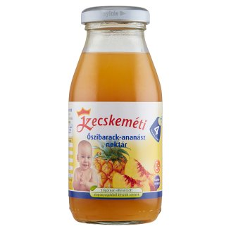 Kecskeméti Peach-Pineapple Drink 4+ Months 0,2 l