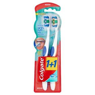 Colgate 360° Medium Toothbrush 2 pcs