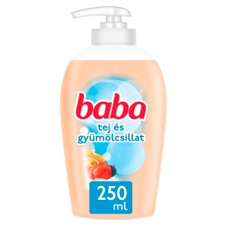 Baba Milk- and Fruit Fragrance Liquid Cream Soap 250 ml
