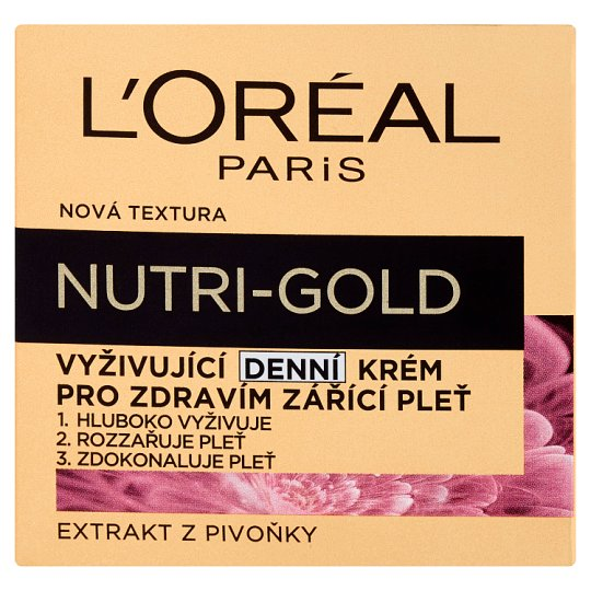 image 1 of L'Oréal Paris Nutri-Gold Nourishing Day Face Cream 50 ml