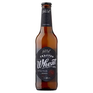 Tesco Finest Wheat Unfiltered Quality Lager Wheat Beer 5% 330 ml