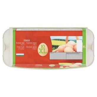 """Tesco """"A"""" Quality, Fresh Eggs XL 10 pcs"""