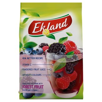 Ekland Granulated Tea Drink with Forest Fruit Flavour and Vitamin C 300 g