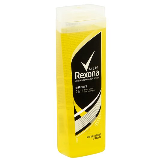 Rexona Men Sport tusfürdő & sampon 400 ml