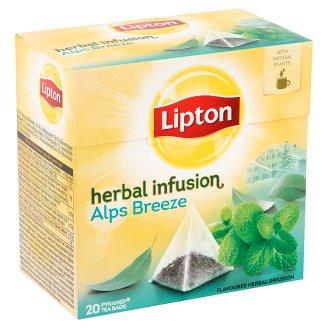 Lipton Herbal Infusion Alps Breeze Tea 20 Pyramid Tea Bags