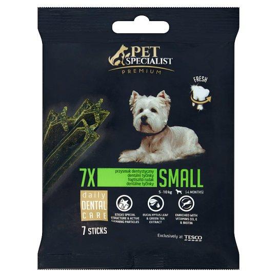Tesco Pet Specialist Premium fogtisztító jutalomfalat kistestű felnőtt kutyáknak 7 db 110 g