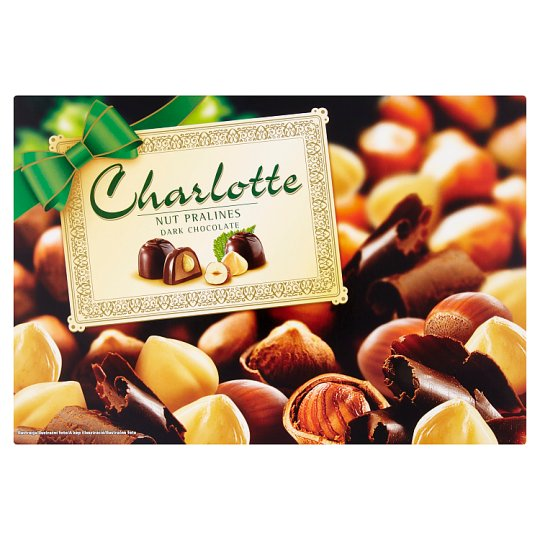 Charlotte Dark Chocolate Bonbon with Whole Hazelnut 225 g