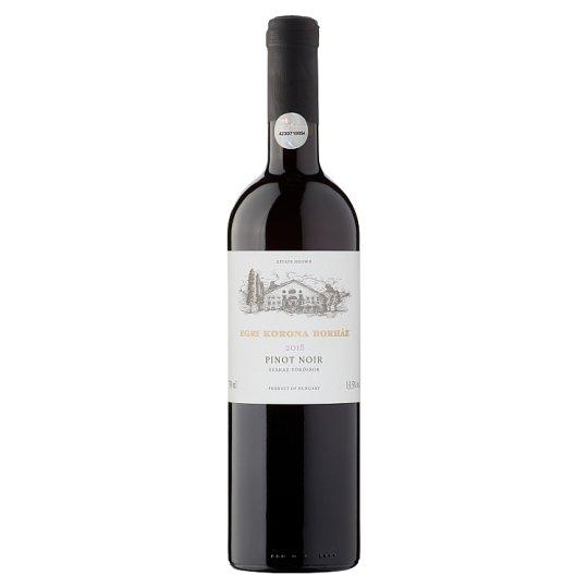 Egri Korona Borház Egri Vörös Pinor Noir Dry Red Wine 13% 750 ml