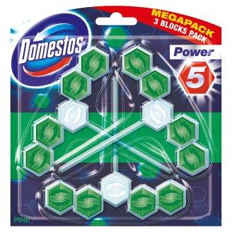 DOMESTOS Power5 Pine Toilet Rimblock 3 x 55 g