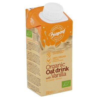 Biopont Organic Oat Drink with Vanilla 200 ml