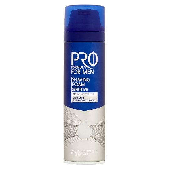 Tesco Pro Formula for Men Sensitive Shaving Foam 200 ml
