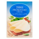 Tesco Fat Sliced Processed Cheese 100 g