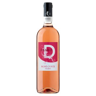 Dankó Duna-Tisza Közi Rosé Cuvée félédes rosébor 10,5% 750 ml