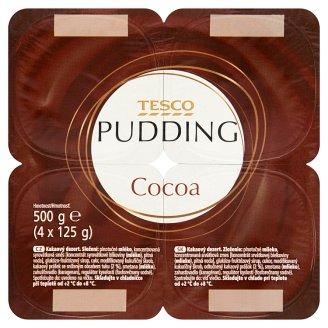 Tesco Cocoa Pudding 4 x 125 g