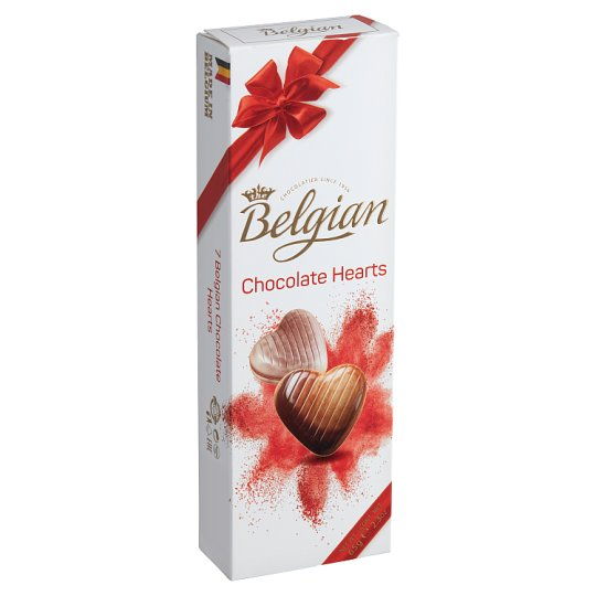 Belgian Hearts Belgian Chocolate Bonbons 65 g