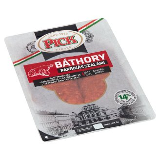 PICK Báthory Sliced Salami with Paprika 70 g