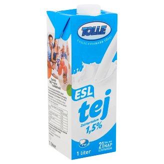 Tolle ESL zsírszegény tej 1,5% 1 l
