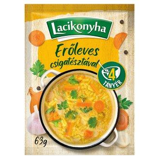 Lacikonyha Broth Stock with Spiral Pasta 63 g