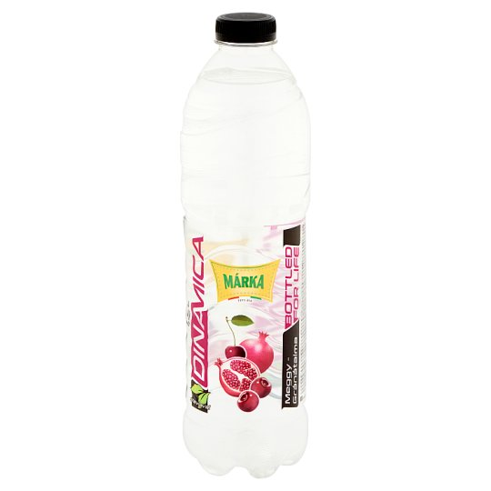 Márka Sour Cherry-Pomegranate Noncarbonated Low-Energy Soft Drink with Sugar and Sweetener 1,5 l